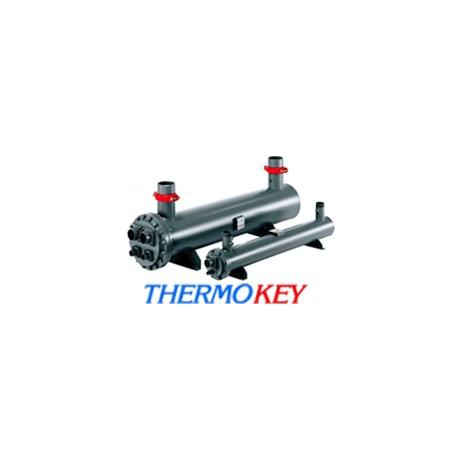 Теплообмінник кожухотрубний ThermoKey TС 125 4Р + припаяні ноги