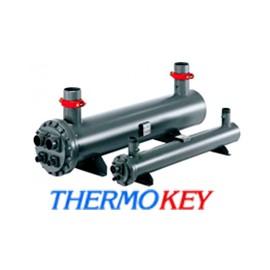 Теплообмінник кожухотрубний ThermoKey TME 85/1 + припаяні ноги