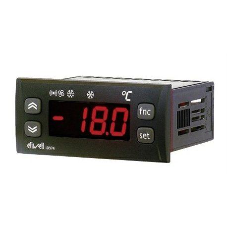 Термостат цифровой Eliwell IDPlus961 RUS NTC 2Hp (IDP17Y07R0001 Контр-р 1реле, 1 дачтик 230V)